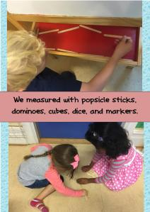 kindergarten measurement PYP