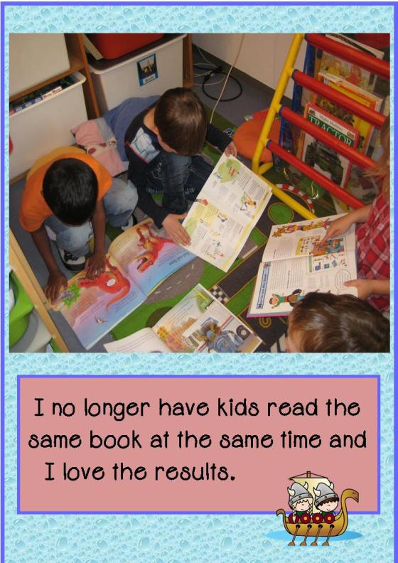 guided reading differentiation
