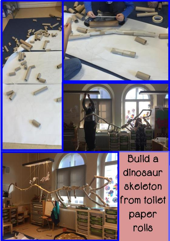 build a dino skeleton