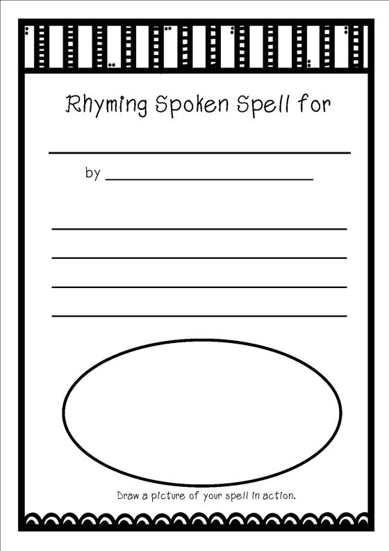 rhyming spell