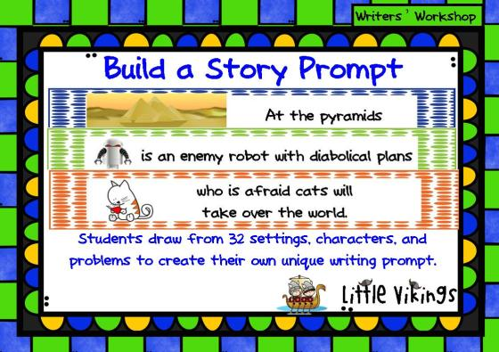 Build a Story prompt cover